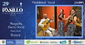 Margarita Dueto Vocal