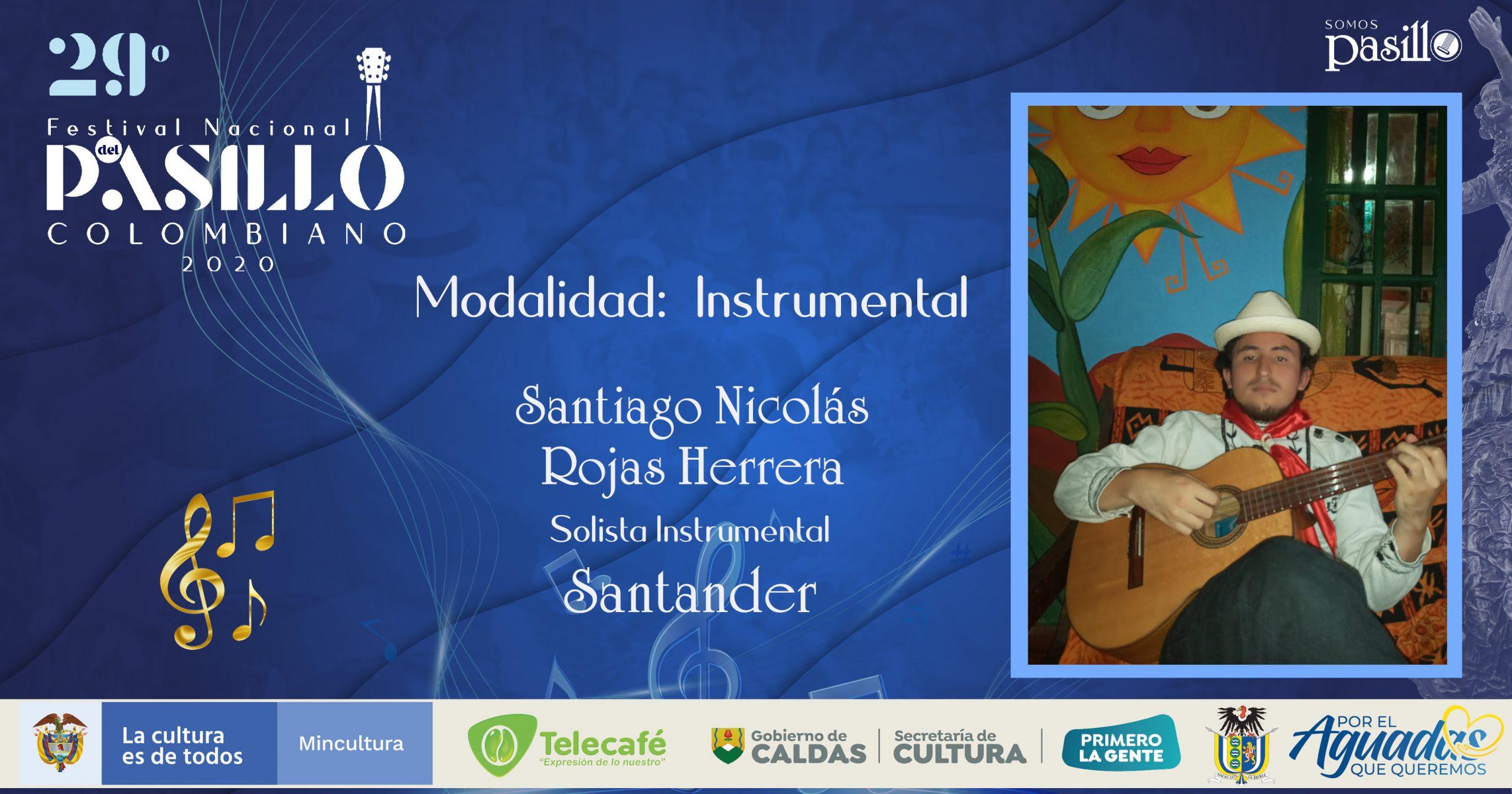 Santiago Nicolás Rojas Herrera